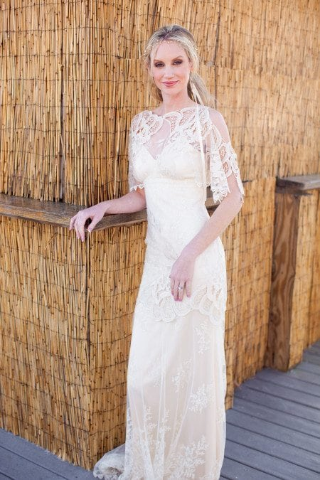 A southern bride san destin processed 0084 e1406097246286 Fashion Files: Claire Pettibone &  Katie Burley Millinery