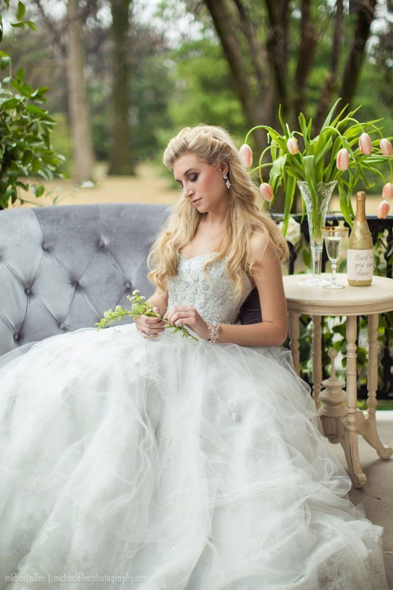 Blue Wedding Dress, Liancarlo, Wedding Dress, Sweetheart Neckline, Wedding, Bridal, Bride, Fashion, Style, Wedding Blog, Southern Blog, Southern Wedding, Southern Bride, Bridal Fashion, Fairytale Wedding, Romantic Wedding