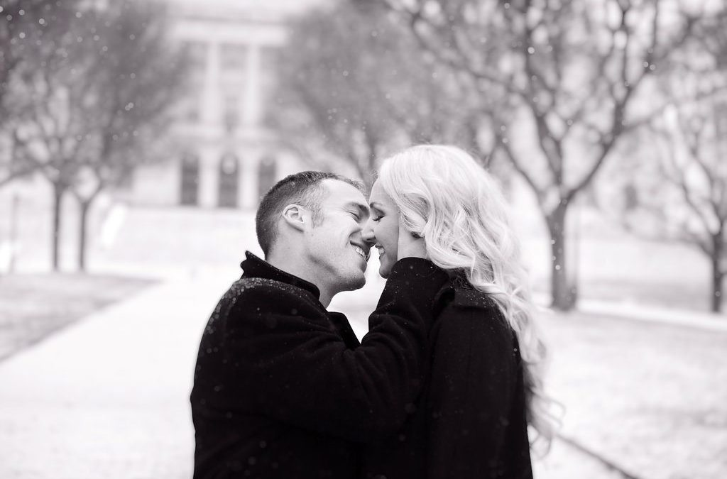 Beautiful Winter Engagement Shoot