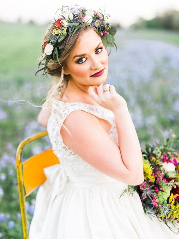 Awake Photography, Bluebonnets, Wild Flowers, Wedding, Gowns, Colors, Sunset, Nature, Heather Benge Events, Rockin' Star Ranch, Dancing Pen & Press, Lone Star Bloom, Charmed by Tonya, Impression Bridal, Over the Top Linen, Texas, Southern Bride