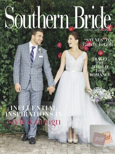 Southern Bride Magazine Winter-Spring 2016 Edition PDF