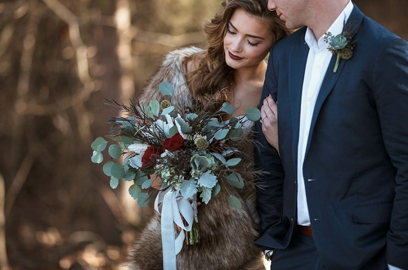 forest_and_fur-couple_bouquet