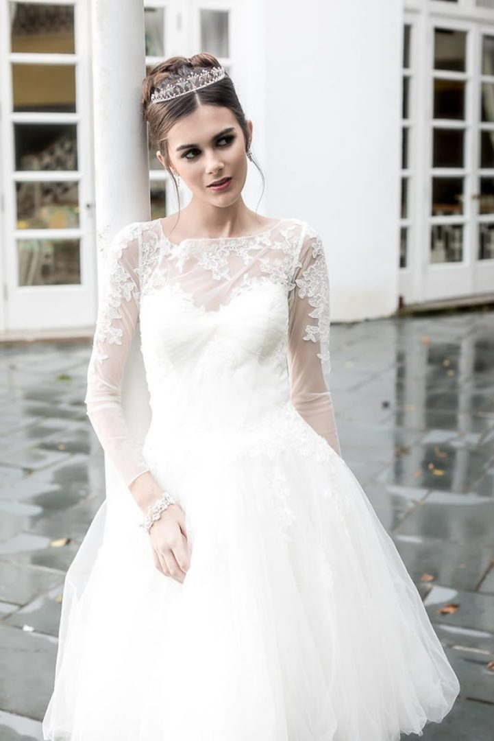 Absolutely Precious Zac Posen Short Wedding Dress Southern Bride