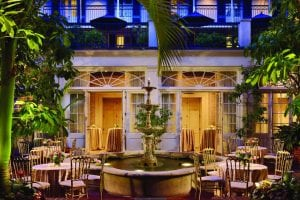 New_Orleans_Louisiana_Royal_Sonesta_Hotel-Courtyard_Wedding_Reception