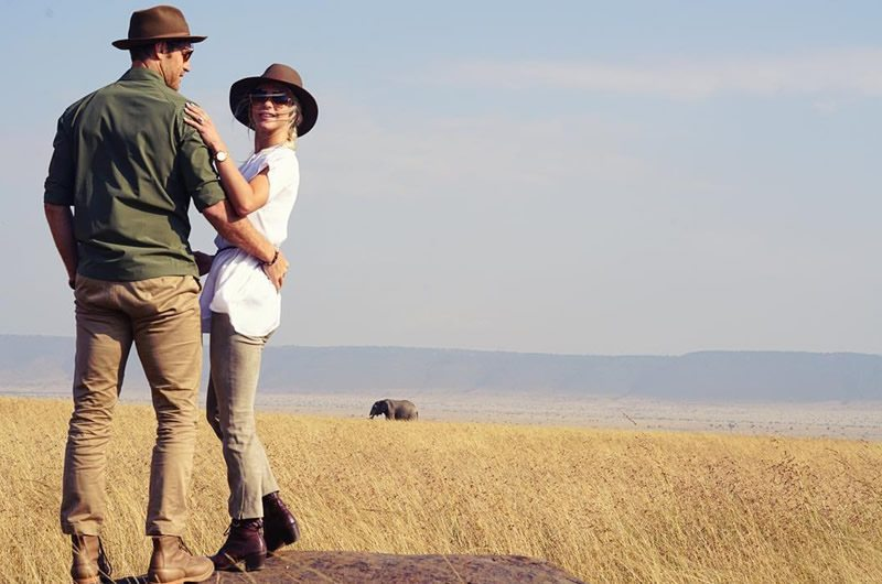 Julianne Hough's African Safari Honeymoon