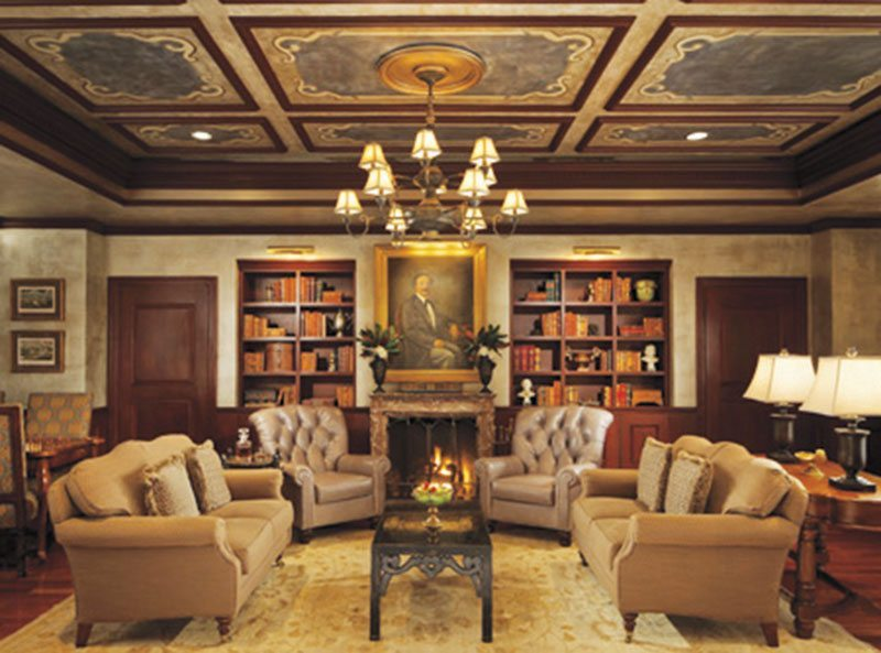 NOLA_Ritz-club_library_with_fireplace