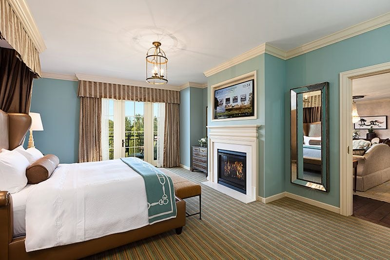 Salamander_Resort-bedroom_with_fireplace