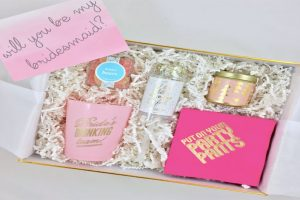 Give Lovely Bridesmaid Boxes Pink Gift Boxes
