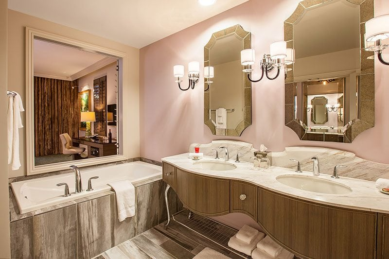 Grand Bohemian Guest Bathroom