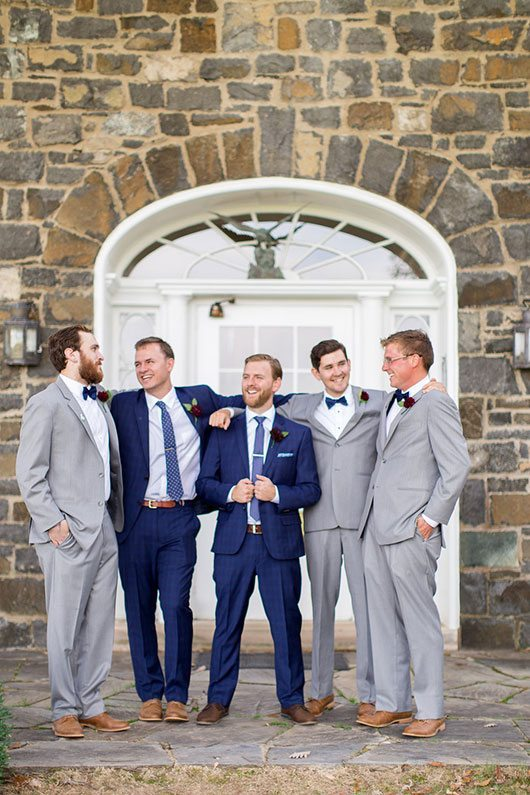 Halloween Wedding Grooms Men Laughing