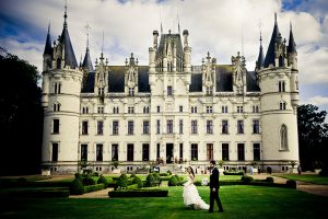 Home Away Castle With Bride Groom