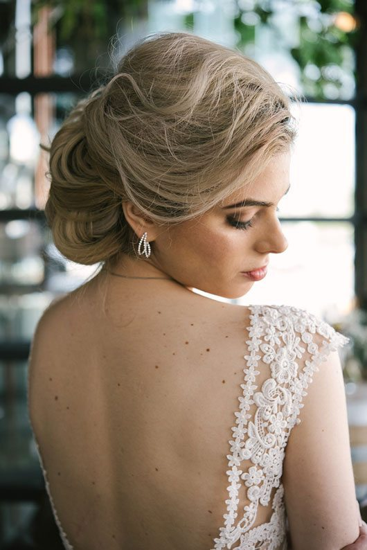 Restoratives Wedding Bride With Backless Gown