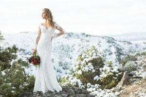 Allure Bridals Latest Collection Wilderly Lookbook Trumpet Lace Gown