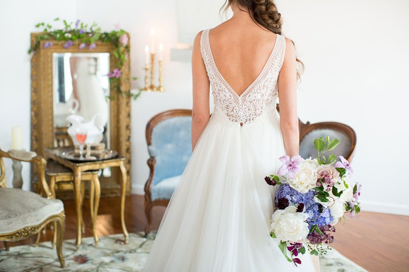 Enchanted Back Of Gown