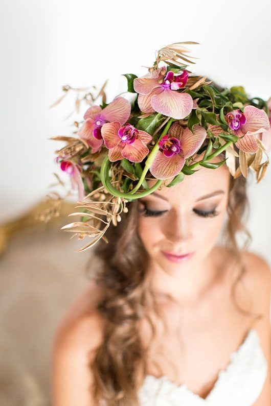 Enchanted Top Of Flower Crown
