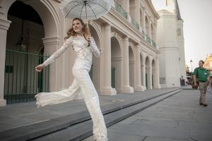 Olia Bride Jumping In New Orleans