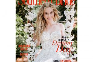 Southern Bride Magazine Winter 2018 Cover Announcement Featuring Tara Lipinski