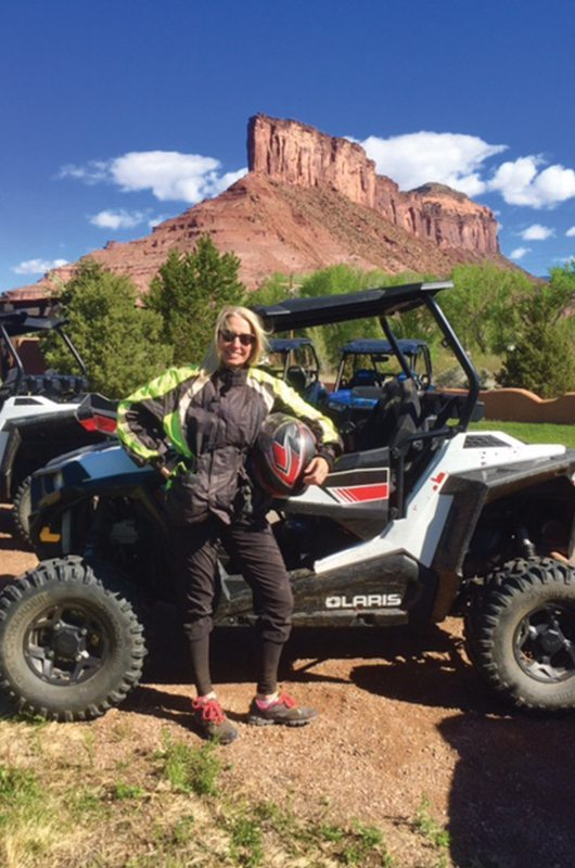 Gateway Canyons Resort And Spa Gateway Colorado Atv Woman