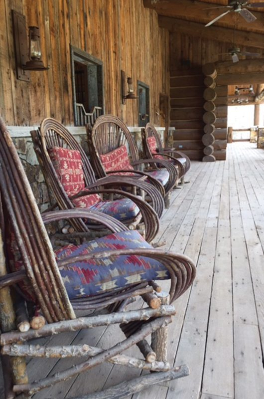 Gateway Canyons Resort And Spa Gateway Colorado Rocking Chairs