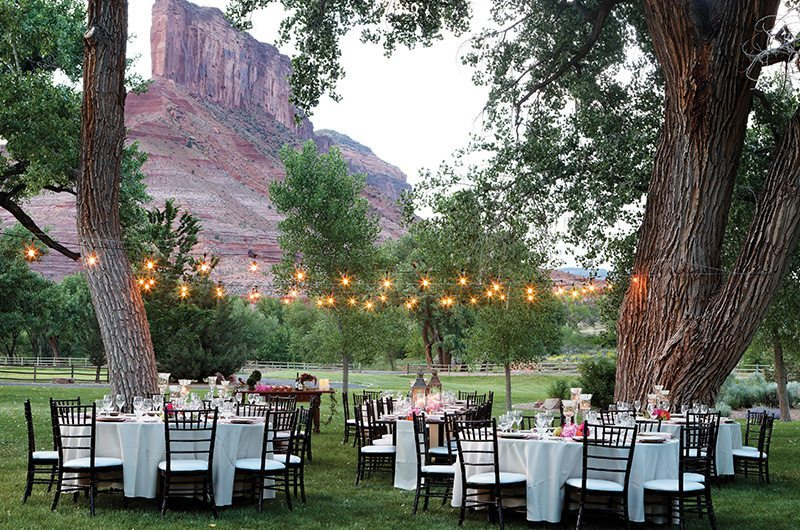 Gateway Canyons Resort And Spa Gateway Colorado Table Layout