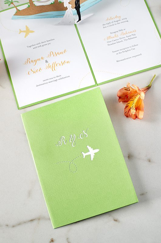 Wedding Invitations That Pop LovePop Beach