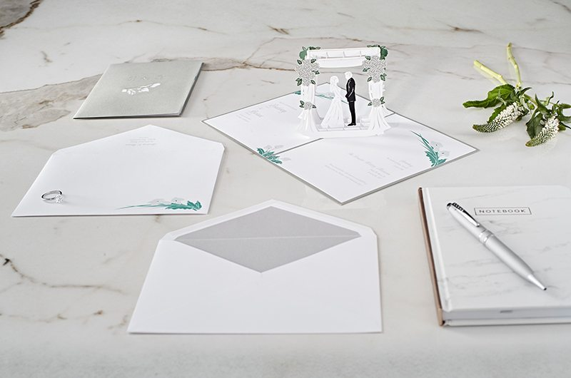Wedding Invitations That Pop LovePop Chuppah