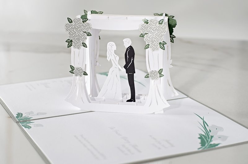 Wedding Invitations That Pop