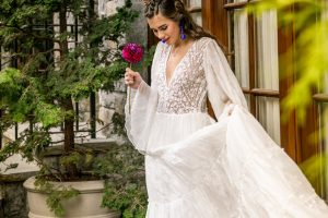Spanish Inspired Wedding Dress Feature Image