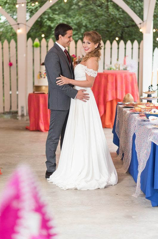 Mexican Wedding Inspiration Bride And Groom