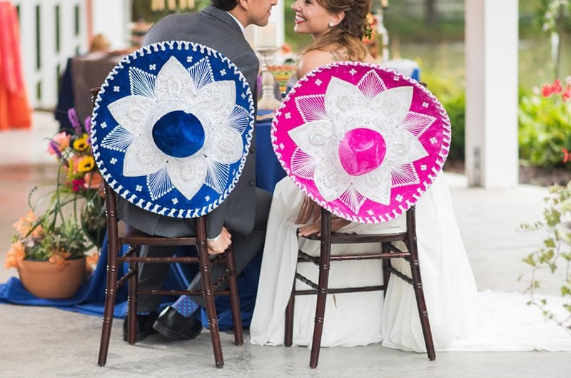 Mexican Wedding Inspiration Chairs