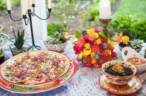 Mexican Wedding Inspiration Food