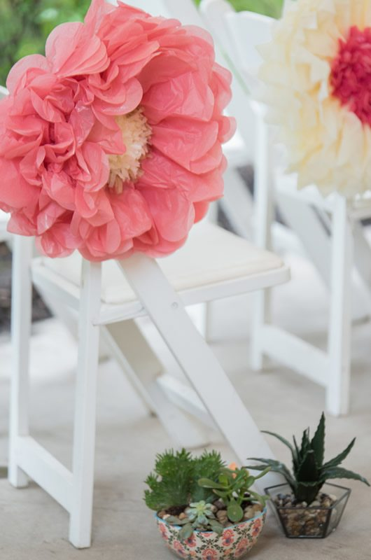 Mexican Wedding Inspiration Paper Flowers