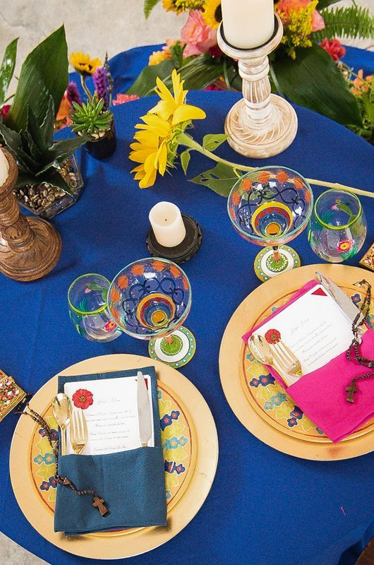 Mexican Wedding Inspiration Sweetheart Table