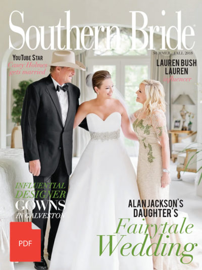 Southern Bride Magazine Summer Fall 2018 Summer Cover Pdf