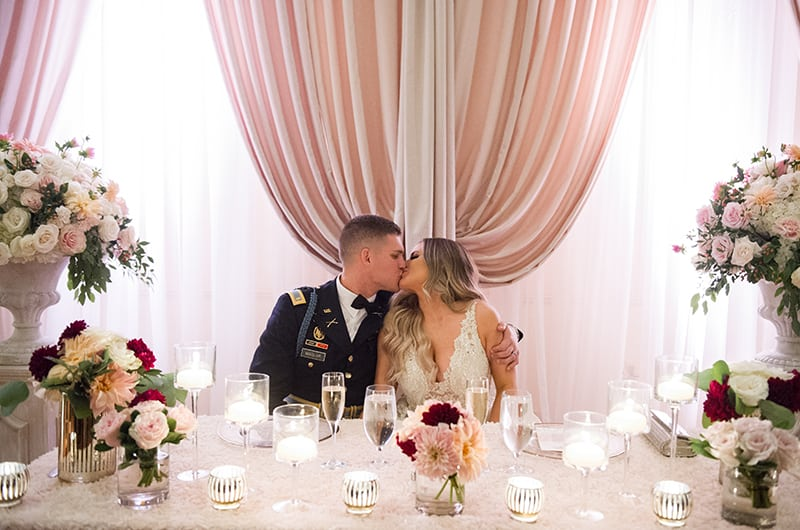 Exclusive Look At Casey Holmes Elegant Military Wedding: Part 3