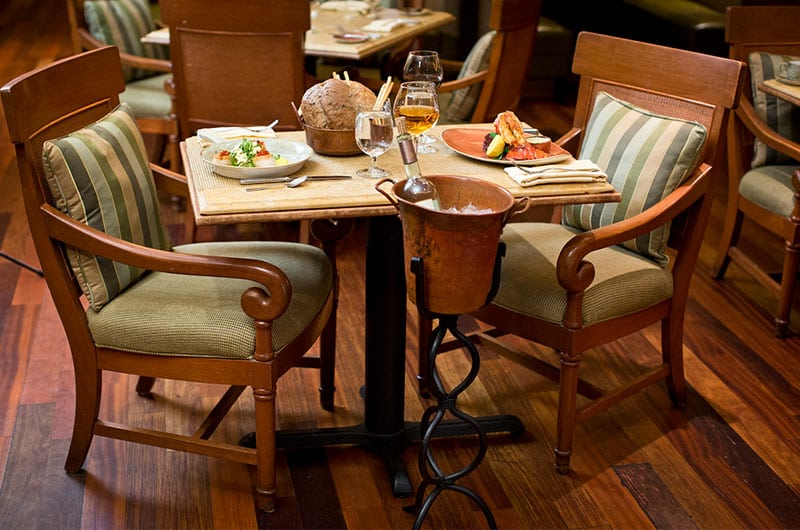 The Peabody Capriccio Grill Table