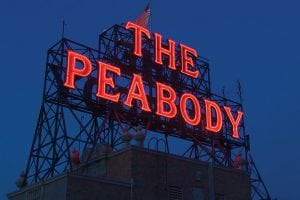 The Peabody Rooftop Sign