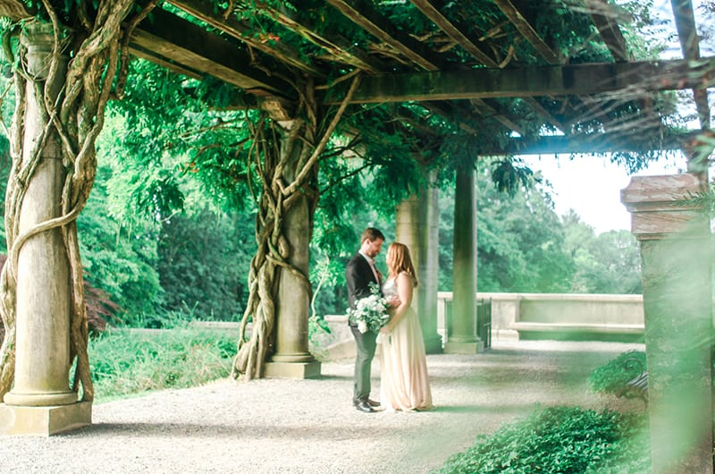Biltmore Engagement Session Greenery2