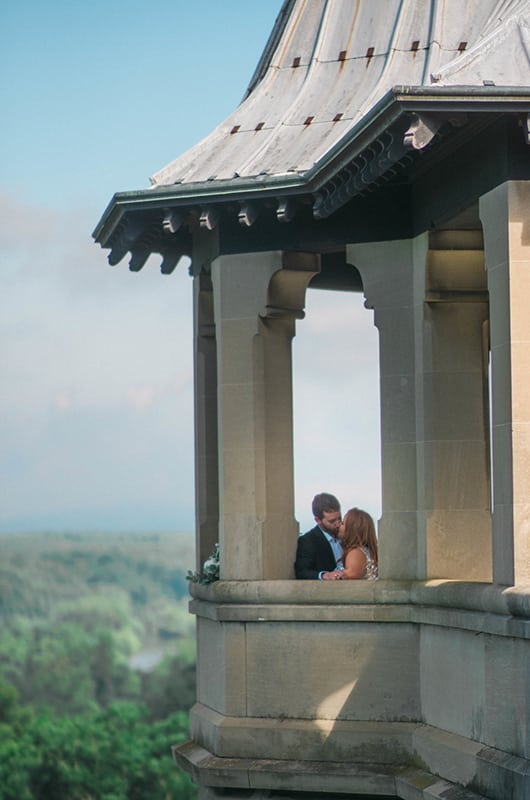 Biltmore Engagement Session Tower