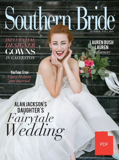 SouthernBrideMagazine Summer Fall 2018 Fall Cover Pdf
