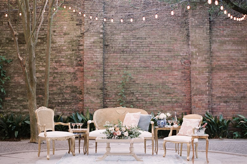 New Orleans Wedding Inspo Couch