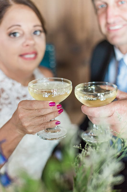 Sweet Princeton Vow Renewal Cheers
