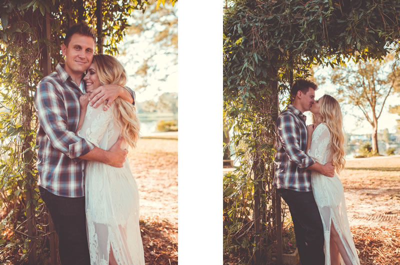 Fall Engagement Session In The Heart Of Georgia Collage