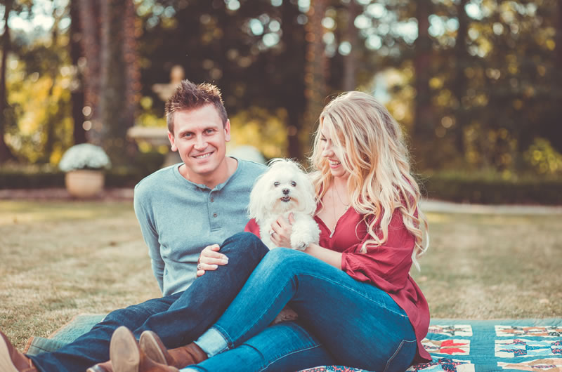 Fall Engagement Session In The Heart Of Georgia Miss Prissy Picknick