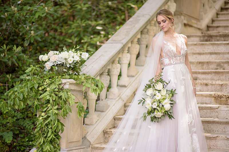 Chic Garden Wedding Inspiration Bride 3