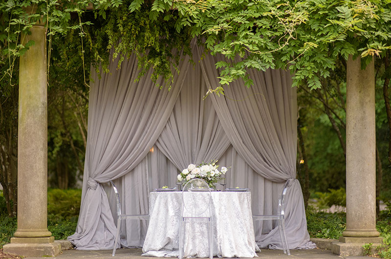 Chic Garden Wedding Inspiration Table 1