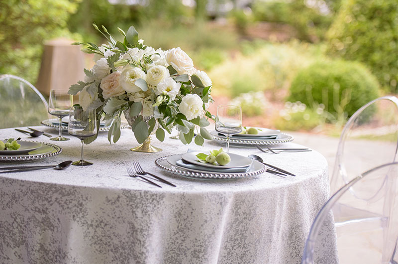 Chic Garden Wedding Inspiration Table 2