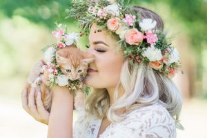 Kitten Bridal Shoot Feature Image