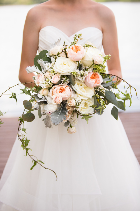 Formal Southern Wedding Inspriation Bouquet