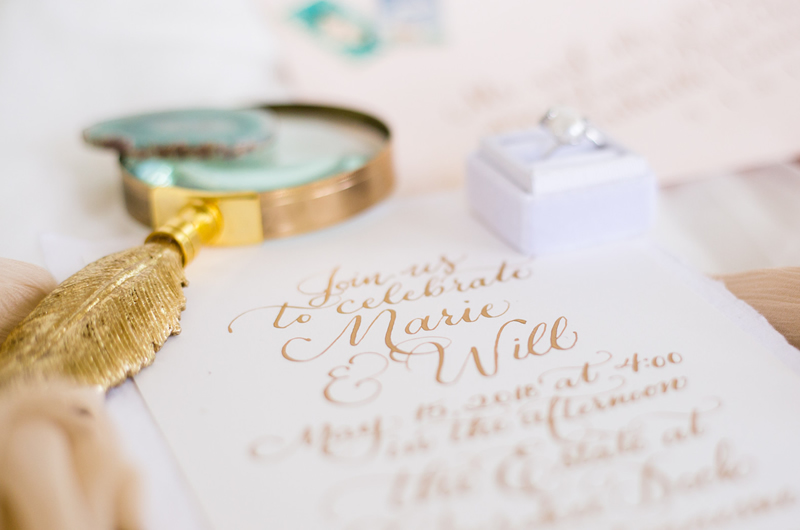 Formal Southern Wedding Inspriation Invitations